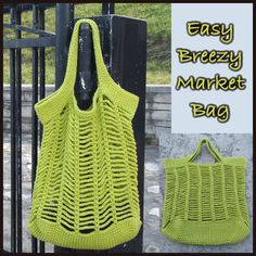 Easy Breezy Market Bag