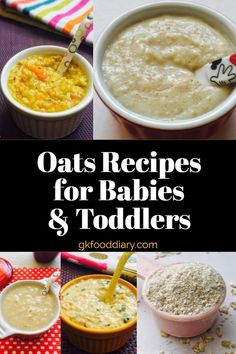 Oats For Baby – Oats Baby Food Recipes | Can I give my Baby Oats
