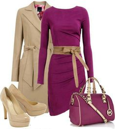 FYT type 3/2 outfit -can't stand in those shoes, love the color. Would do more neutral bag