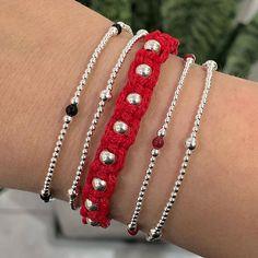 Ku Joyas ║ Pulseritas delicadas en plata 925, se empieza a sentir el calorcito, y el color en todos los modelos ya se pueden ver. Diamond, Instagram, Bracelets, Color, Jewelry, Fashion, Models, Bangle Bracelets, Jewelery