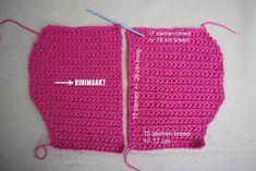 Vestje in madeliefsteek maat Crochet Top, Crochet Hats, Baby Vest, Diy Crafts, Blog, Tutorial, Women, Fashion, Knitting Hats