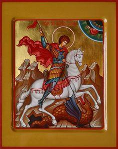 Hl Georg, St Martin Of Tours, Saint George, Saints, Religion, Comic Books, Miniature, Arm, Painting