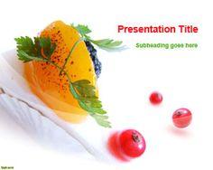 Free Dessert PowerPoint Template | Free Powerpoint Templates