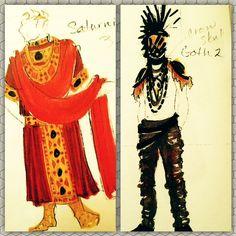Nebraska Shakespeare: The Object of Art: Costume Design- Titus Andronicus 2013