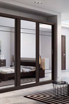 Toups 3 Door Sliding Wardrobe In 2019 Bedrooms Mirrored 3 Door Sliding Wardrobe, Mirror Closet Doors, Bedroom Storage Ideas For Clothes, Bedroom Design, Bedroom Closet Design, Bedroom Cupboard Designs, Cupboard Design, Wardrobe Room, Wardrobe Door Designs