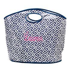 tinytulip.com - Monogrammed Geometric Bucket Tote , $28.50 (http://www.tinytulip.com/monogrammed-geometric-bucket-tote)