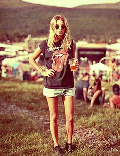 Stones. #summer #festival #rocknroll