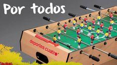 Futbolín Deportes Cuatro ¡el partido más grande se juega en tu casa!