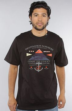 The Destination Nowhere Tee in Black by LRG