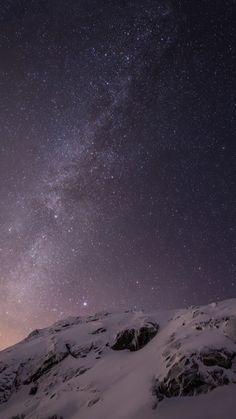 How can I restore my iPad lock screens original starry night sky