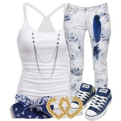 A fashion look from September 2012 featuring American Eagle Outfitters tops, Boohoo jeans and Converse sneakers. Browse and shop related looks.