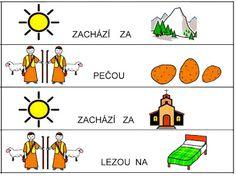 Pro Šíšu: Pracovní listy ČTEME PÍŠEME Worksheets, Activities, Comics, Learning, Czech Republic, Babies, Logo, Musica, Autism
