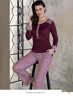 Artis 2220 Women's Pajamas Set will make you redefine comfort when you wear this cozy and stylish set. Sleeping Gown, Pajamas Women, Women's Pajamas, Summer Pajamas, Womens Pyjama Sets, Night Suit, Abaya Fashion, Shirts For Girls, Corsets