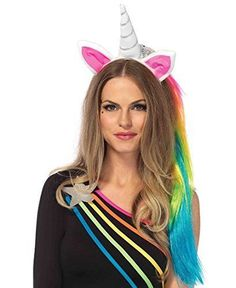 Multicolor Unicorn Horns Christmas Party Gift Hairband Costume Headdress ZN