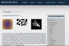 Medio: Bolsa De Arte Brazil  http://www.bolsadearte.com/oparalelo/le-parc-em-sao-paulo