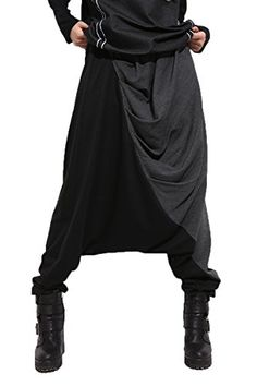 ELLAZHU Women Baggy Harem Drapes Color-Block Pants Onesize GM274 Black ELLAZHU http://www.amazon.com/dp/B00N71VEQI/ref=cm_sw_r_pi_dp_GFDEwb1KSKJMK