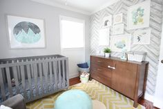 Looking for inspiration for a gender neutral nursery? This gender neutral nursery may give you a few new ideas to get started on your special space.