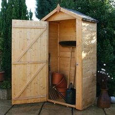Wooden Sentry Box Shed 3x2