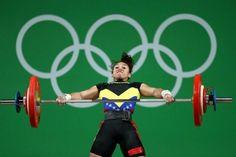 La venezolana Yusleidy Figueroa culminó este lunes en la casilla número nueve de la categoría de 58 kilogramos del levantamiento de pesas de los Juegos Olímpicos, Río 2016. Figueroa logró un total de 201 kilogramos alzados, luego de levantar 85 kilogramos en la modalidad de arranque y 116 en el envión o levantamiento a dos tiempos.</p>