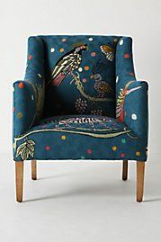I reeeeeallly want a chair just like this one.  Wish I was finding it at a flea market for $40 instead of anthropologie for $4,000.