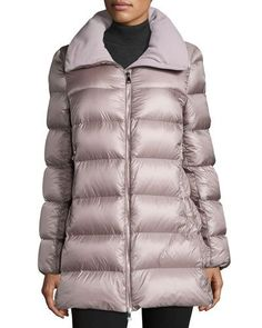 MONCLER TORCYN QUILTED WOOL-LINED PUFFER COAT. #moncler #cloth #