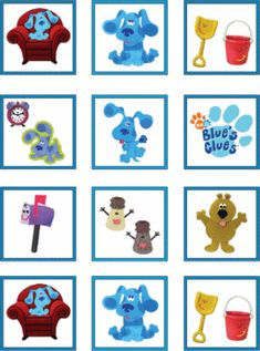 Blues Clues Printables