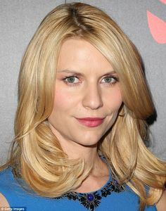 Claire Danes... I love her in the Homeland series.