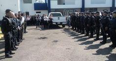 El subsecretario de la institución, Carlos Gómez Arrieta exhortó al nuevo funcionario y los elementos a trabajar en equipo para bajar la incidencia delictiva en esta parte de la entidad