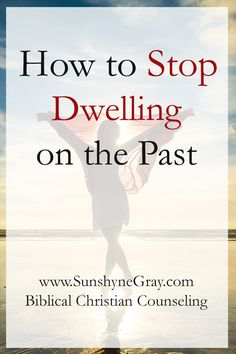 Dwelling on the past keeps us chained to it. There are many different reasons that keep us stuck in the past. But, dwelling on the past will not heal it. Instead of dwelling on the past, we can recall the past with a new perspective. Christian Living, Christian Life, Dwelling On The Past, Spiritual Growth, Spiritual Thoughts, Negative Thoughts, Marriage Advice, Bible Verses, Prayer Verses