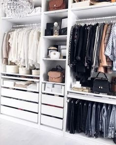 10 Of The Most Elegant Dressing Room İdeas - Source by carolinasterzer room design Walk In Closet Design, Bedroom Closet Design, Master Bedroom Closet, Closet Designs, Diy Bedroom, Bedroom Storage Ideas For Clothes, Bedroom Storage For Small Rooms, Ikea Bedroom Storage, Closet Ideas