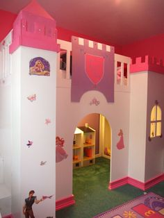 1000 images about little girl 39 s dream on pinterest for How to build a castle bed