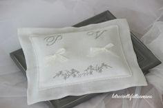 letrecivette cuscino fedi - ring pillow