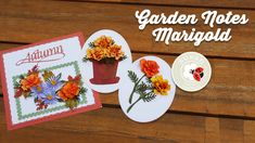 Susan's Garden Club - Garden Notes Marigold