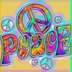 Peace Hippie Art ☮️ Hippie Peace, Happy Hippie, Hippie Love, Hippie Man, Hippie Style, Hippie Chick, Peace Love Happiness, Peace And Love, Peace Sign Art