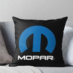 Mopar Logo Throw Pillow