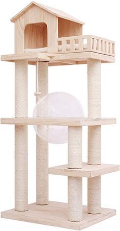 Wooden Cat Tree, Wooden Cat House, Cat House Diy, Cat Tree Condo, Cat Condo, Climbing Frame Diy, Diy Cat Tower, Cat Tree Designs, Cat Towers