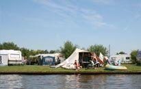Camping Friesland 'It Wiid' - Vakantie aan het water in Friesland