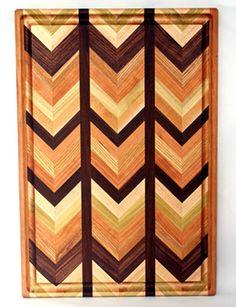 herringbone cutting board <3