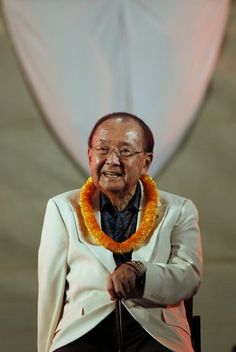 """Senator from Hawaii Daniel Inouye: Second longest serving US Senator after Byrd; highest elected asian-american official in US history; a WWII veteran and Medal of Honor recipient from the famous 442nd """"All nisei"""" division"""