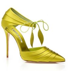 Manolo Blahnik Shoes Spring/Summer 2014