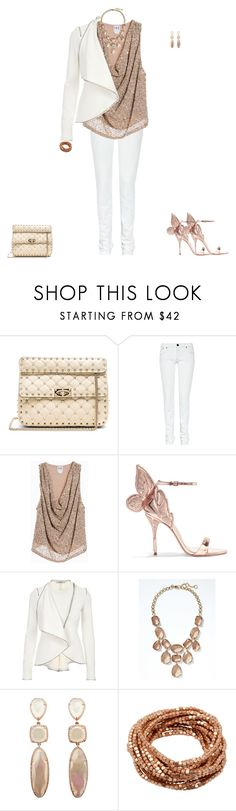 """Untitled #1903"" by angelbear38 ❤ liked on Polyvore featuring Valentino, Victoria Beckham, Haute Hippie, Sophia Webster, Givenchy and Banana Republic"