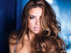 Adriana Lima. I hadn't heard of her until recently but she is pretty. It doesn't surprise me that she's a VS gal