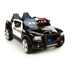 Walmart: Kid Trax Dodge Charger Police Cruiser Ride-On Kids Police Car, Toy Cars For Kids, Police Cars, Toys For Girls, Police Officer, Kids Toys, Police Truck, Police Wife, Power Wheels