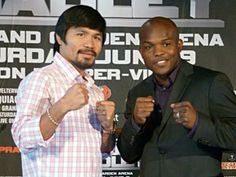 """Fighter of the Decade, Congressman Manny """"Pacman"""" Pacquiao and undefeated junior welterweight champion Timothy """"Desert Storm"""" Bradley, Jr. concluded their two-city, coast-to-coast media tour Thursday, Feb. 23 at the Chelsea Piers."""