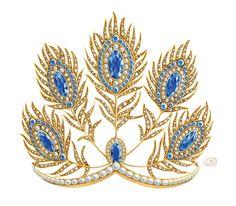 jewelry sketch, watercolor on Behance