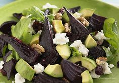 Beet and Goat Cheese Arugula Salad Recipe - Neogenis Labs