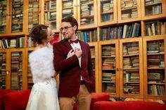 Check out these clever wedding ideas for book worms! read more