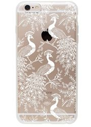 Clear Peacock iPhone 6 cases designed by Anna Bond for Rifle Paper Co., now at Northlight