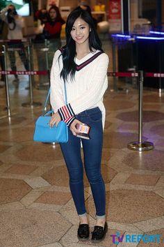 Tzuyu airport fashion  Twice