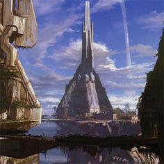 aliens above a city concept art - Google Search